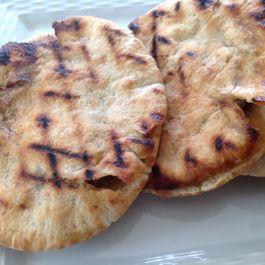 Grilled Pita Burgers