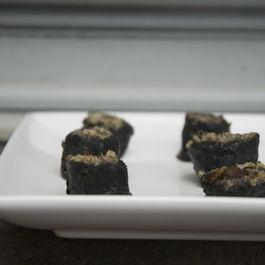 Holy Shitake Quinoa Sushi