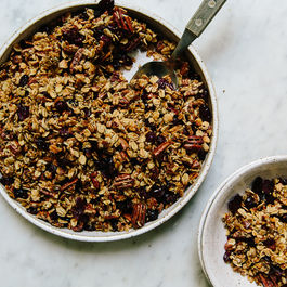 Granola with Wild Seeds and Nuts