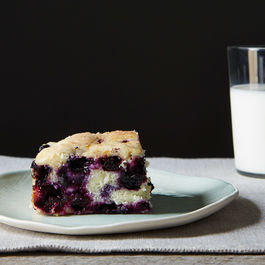 Blueberry Lemon Cake by DragonFly