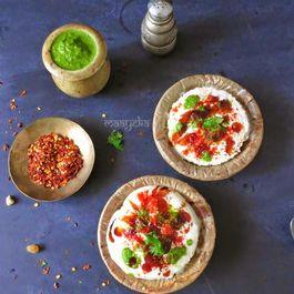 Instant-bread-dahi-vada-bachelor-recipe-easy
