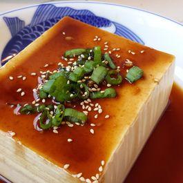 Japanese Chilled Tofu (冷奴 - Hiyayakko Tofu)