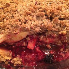 Any-Fruit-You-Want-To-Use Crispy Crisp Recipe