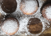 Pączki with Prune Butter