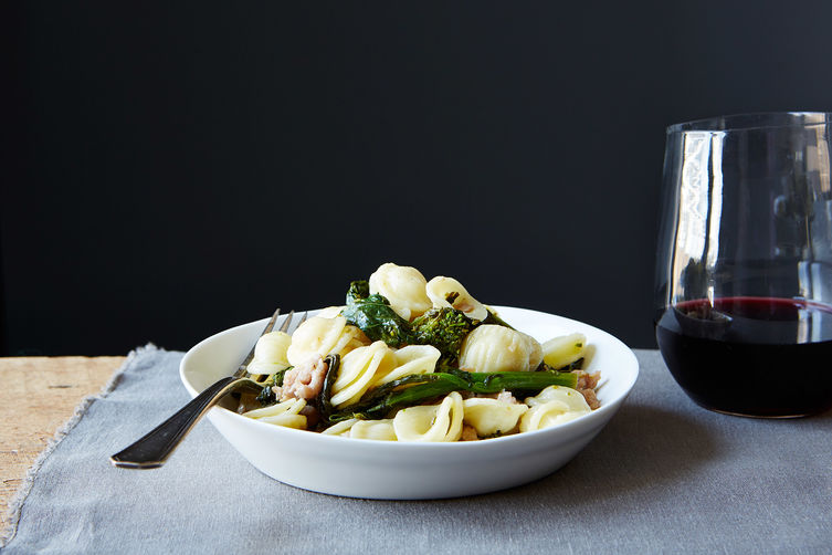 Orecchiette with Broccoli Rabe and Sausage Recipe on Food52