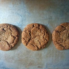 Chubby Chewy Whole Wheat Molasses Clove Cookies