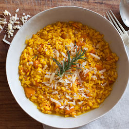 Butternut Squash and Saffron Risotto