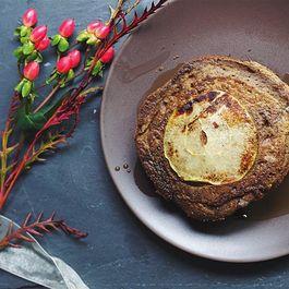 SPICED PUMPKIN & APPLE BUCKWHEAT PANCAKES (gluten-free)