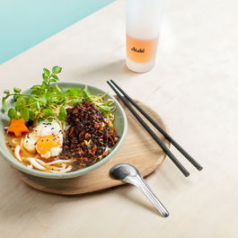 Cle-ann.com_noodle_soup_mushroom_tofu_slow_egg
