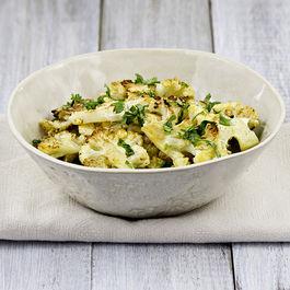 Roasted Cauliflower with Cumin and Cilantro
