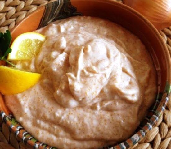 Romanian Style  Fish Roe Salad  (Salată de Icre)