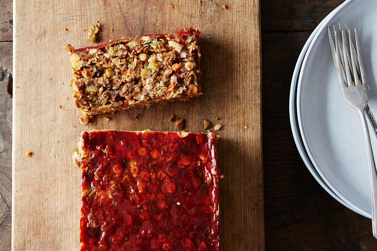 Lentil Walnut Loaf Recipe on Food52