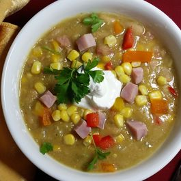 Spicy_ham__bean_and_corn_soup