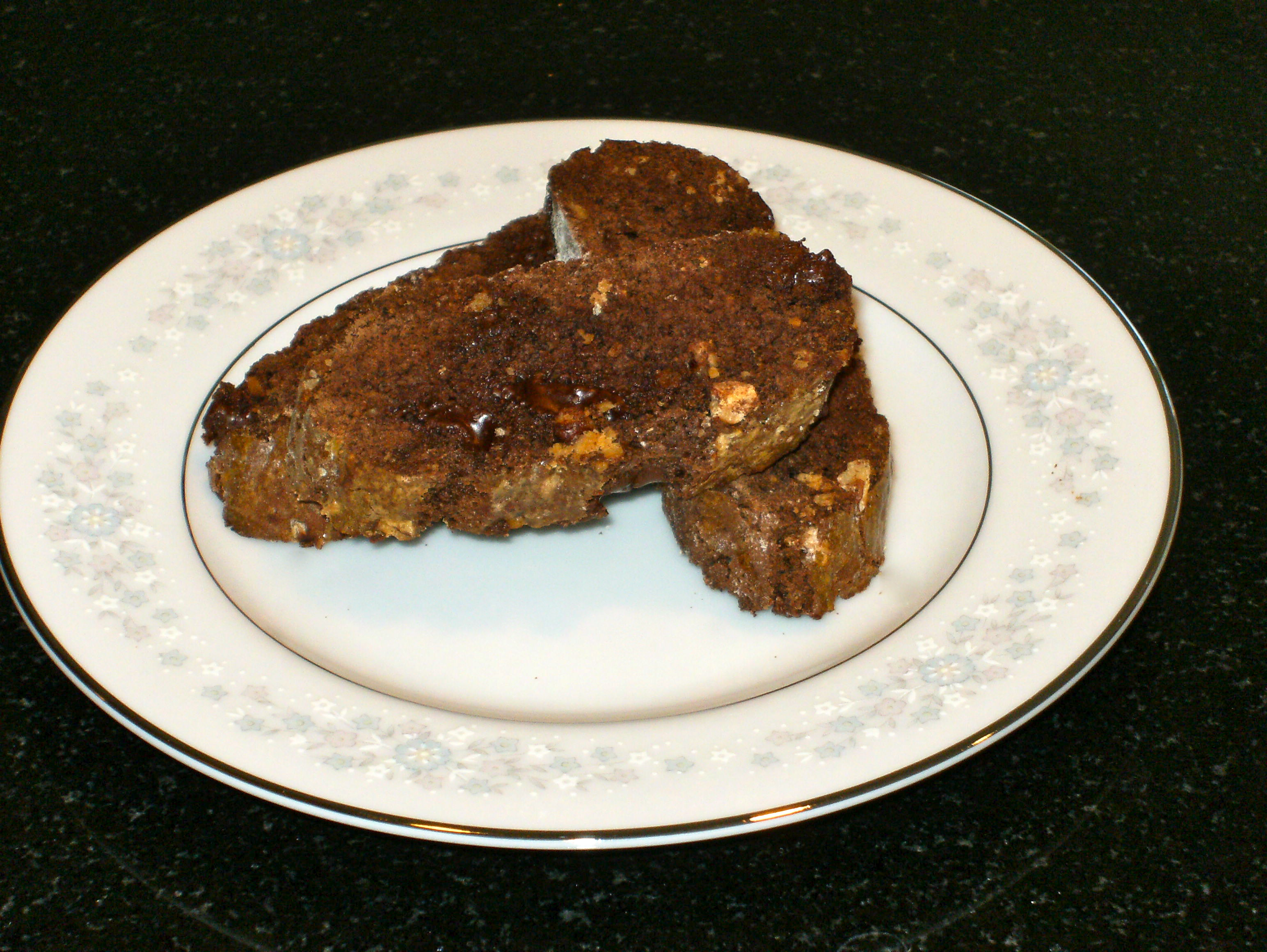 Chocolate Biscotti (two ways)