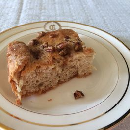 Cream-Baked Coffee Cake