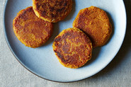 Sweet Potato and Chickpea Cakes
