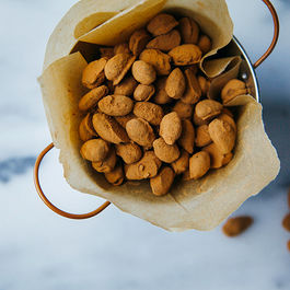 Sweet & Salty Chocolate Covered Almonds