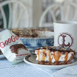 Goo Goo Cluster Marshmallow Pie