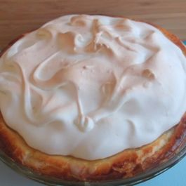 Puff Pastry and Almond Paste Meringue Apple Pie