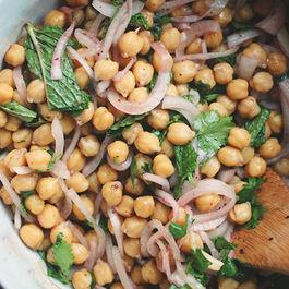 Chickpea and Sumac Onion Salad