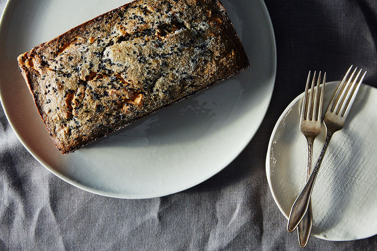 Black Sesame Banana Cake with Peanut Butter Recipe on Food52