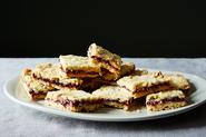 Sossie Beile's Little Cherry Crumb Bars