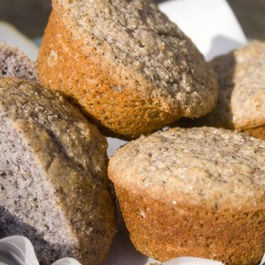 Blue Corn Muffins (Gluten Free)