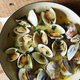 Clams (or Mussels) With Lime-Butter Sauce