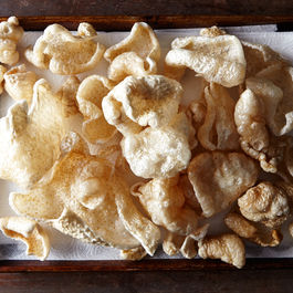 Chicharrón with Lime and Chili Salt