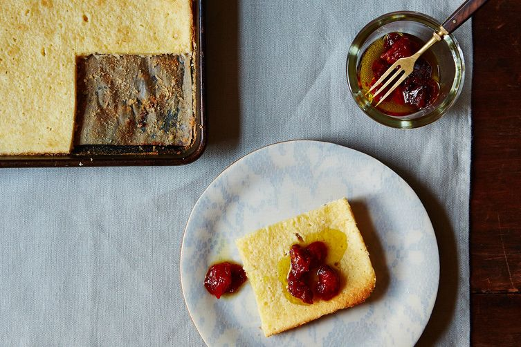 The unconventional dessert and the classic pecorino romano cake with