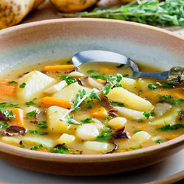 Yukon Gold Potato Rosemary Soup