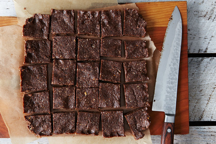 Raw vegan chocolate coconut bars recipe on food52 for Food52 bar nuts