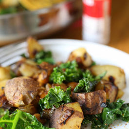 Potato-Kale Hash with Chickpeas