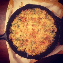 Skillet Potatoes with Chard