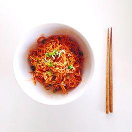 Spicy Cold Korean Noodles