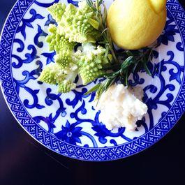 Rosemary Roasted Romanesco and Celeriac Cream