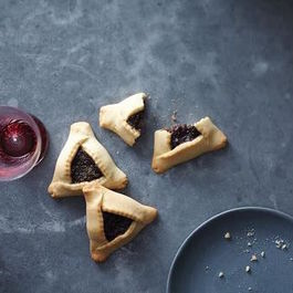 Chocolate-Poppy Seed Hamantaschen