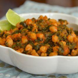 Espinacas con Garbanzos/Spinach and Garbanzos