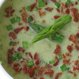 Asparagus Potato and Fennel Soup
