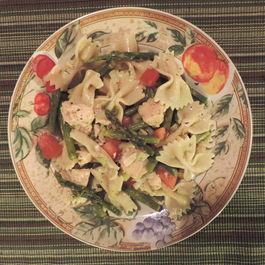 Italian Lemon Chicken Bowtie Pasta Salad