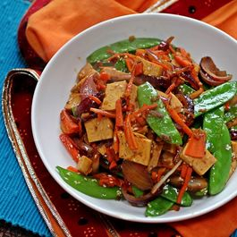 Honey Miso Tofu Stir-Fry