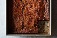 Chocolate Mochi Snack Cake