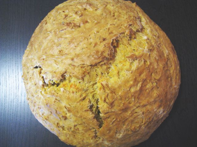 Savory Carrot Bread