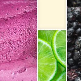 Blackberry Lime Buttermilk Sherbet