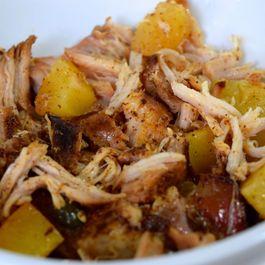 Crock Pot Pineapple Pulled Pork