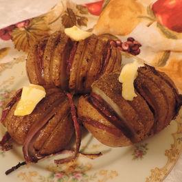 Herb-Roasted Onion-Stuffed Potatoes
