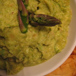 Fresh and Zippy Asparagus Dip