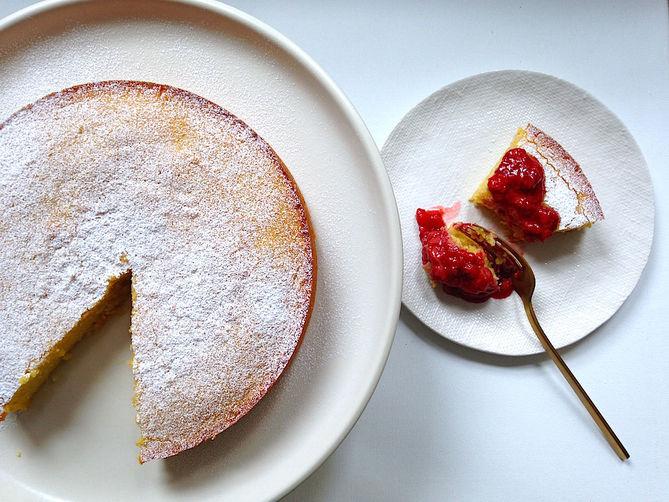 Flourless Almond & Coconut Cake
