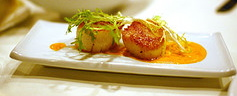 Sea Scallops in Thai Red Curry