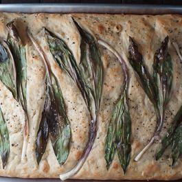 Ramp Focaccia Bread